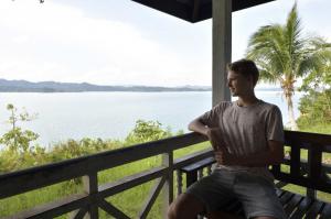 'Verder heb ik deze zomer genoten van een geweldige vakantie in Borneo!'