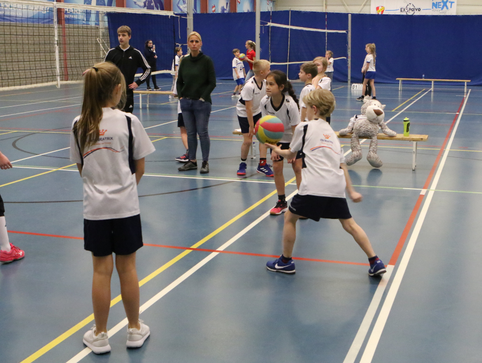 Schoolvolleybal toernooi 2019
