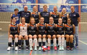 Dames 1 seizoen 2019-2020