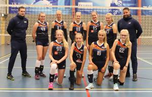 Meisjes B1 seizoen 2019-2020