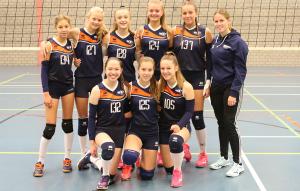 Meisjes B2 seizoen 2019-2020