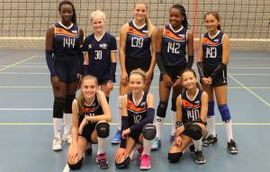 Meisjes C1 seizoen 2019-2020